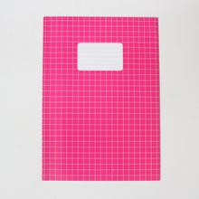Artpaper cover square exercise book staple binding