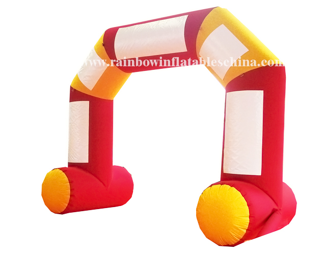 RB21005( 5x4m)Inflatable Colorful Welcome Arch For Commercial Activities
