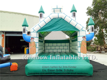 Small Outdoor Commercial Inflatable Castle for Kids