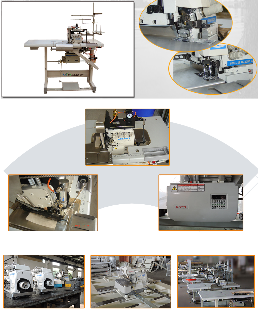 KB3 multifunction flanging machine details
