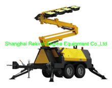 ALT15000A-G Mobile light tower 8x1000W for Mining