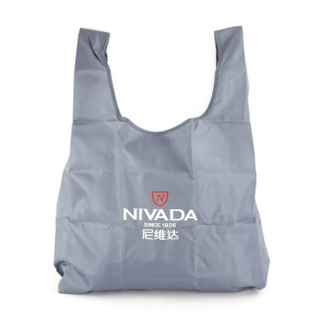 Foldable nylon shopping bag