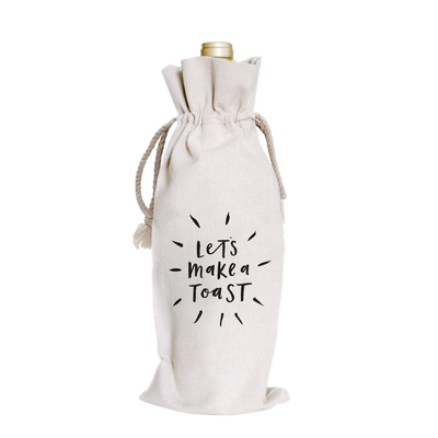 Manufactur Drawstring wine bottle bags