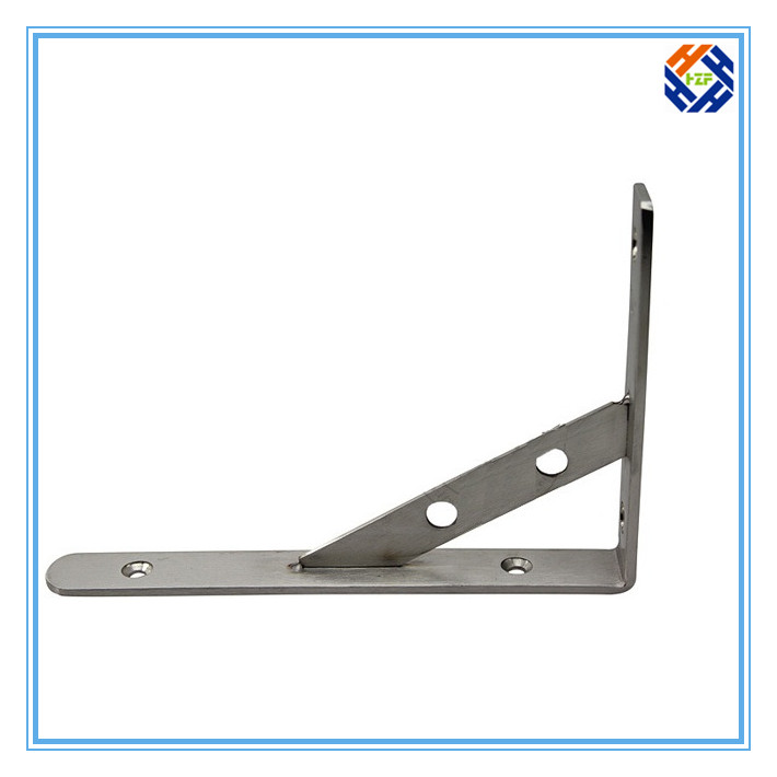 OEM Galvanized Stainless Steel Angle Bracket-4