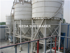 Raw material preparation machines