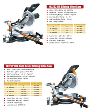 MITRE SAW MJ2321 II -MJ2321 III