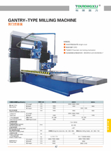 GANTRY-TYPE MILLING MACHINE X2010-X2012-X2014
