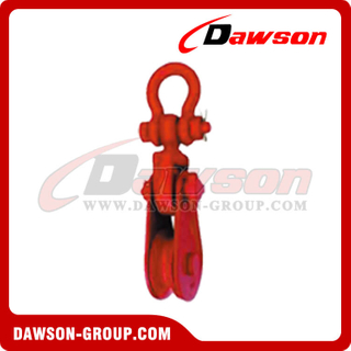 DS-B066 Champion Snatch Block com Shackle
