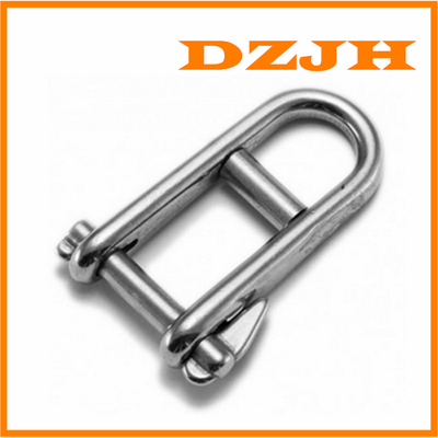 Halyard Shackle w/ Bar & Captive Pin