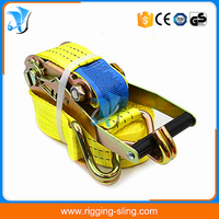 "2"" 50mm ratchet cargo lashing belt"