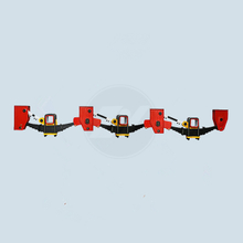 Tri-Axle American Type Underslung Trailer Suspension