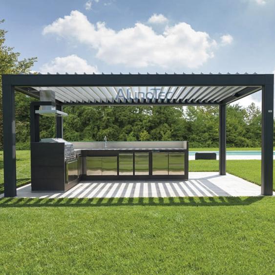 aluminum pergola comment construire une pergola plans et. Black Bedroom Furniture Sets. Home Design Ideas