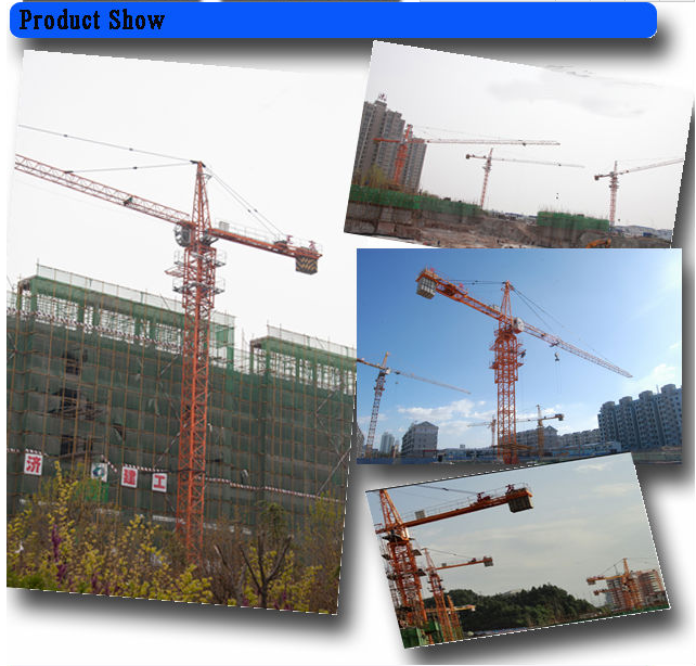Repair and maintenance of tower crane out of work