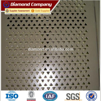 steel stainless sheet metal perforated metal mesh for noise abatement Ceiling of building and decoration mesh
