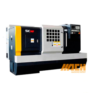 SK50P Bochi Horizontal Economic Flat Bed CNC Lathe