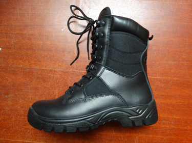 High Quality Black Tactical Boot for Military and Army