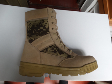 Military High Quality Camo Suede Desert Boot