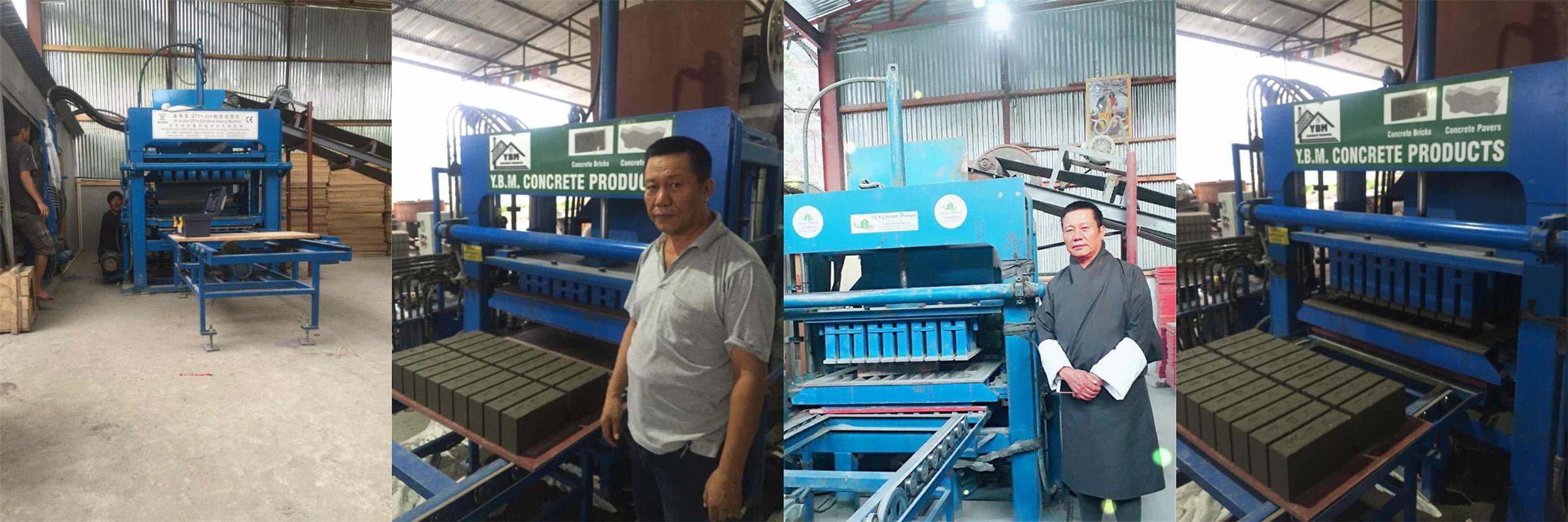 ZCJK Block making machine agent in Bhutan