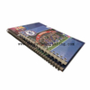 A4 A5 hard cover double spiral wire binding notebook for student waterproof cover