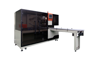 Transparent film three-dimensional packaging machine BTB-400