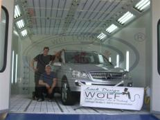 Car Paint Spray Booth In Germany