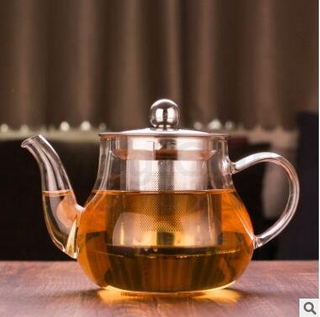 Glass teapot-T18039