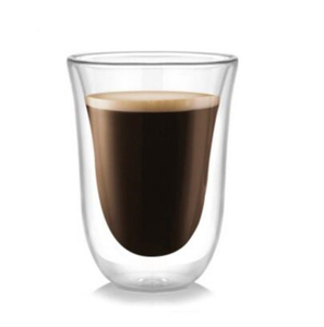 Double wall glass tumblers,glass coffee mug,borosilicate glass in food grade,lead and BPA free