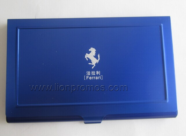 Car Promotional Gift Aluminum Alloy Name Card Box