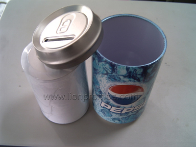 Cola Promotioanl Gift Tin Plate Can Packing Cotton Compressed T Shirt