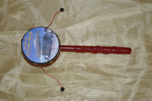 Chinese Traditional Baby Toy Rattle Drum