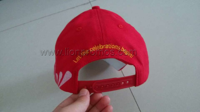 Airtel Logo Cotton Brushed Baseball Cap
