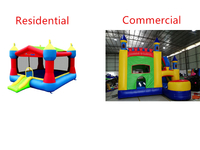 The Difference Between Residential And Commercial Bounce Houses