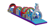 Unicorn Pony Moon Bounce Inflatable Unicorn Obstacle Course