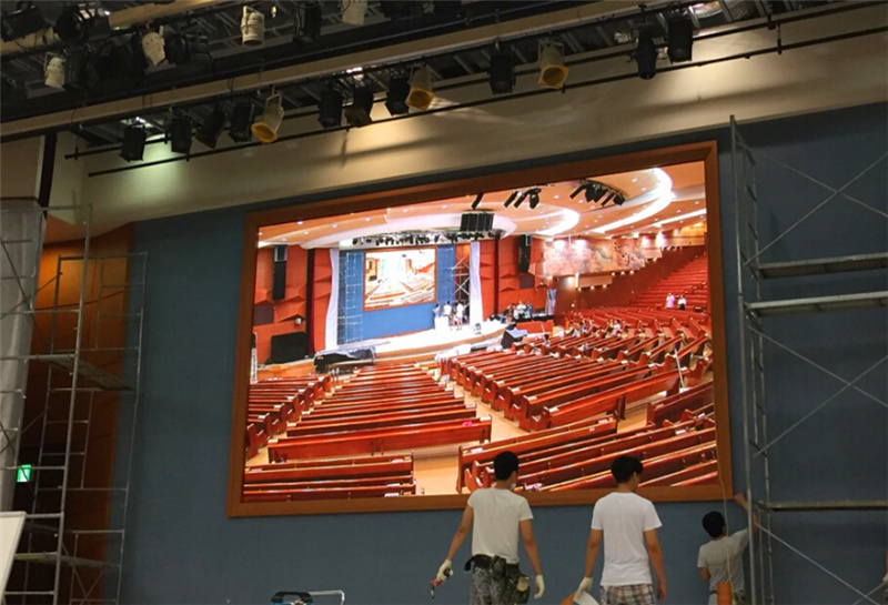 P4 512x512mm panel tamaño LED Video wall Interior para escenarios conferencia Música show