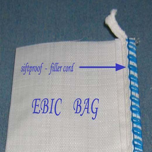 Anti-leaking Big Bag with fillercord siftproof