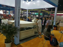 Mattress machine developing trends from Chengdu Internation furniture fair