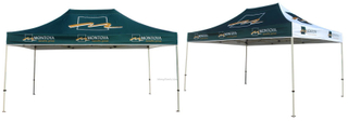 10x15ft Outdoor Portable Hex Steel or Aluminum Outdoor Advertising Folding POP up Sports Event Canopy Tent