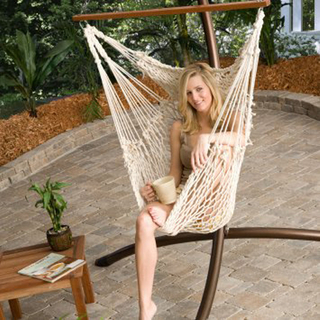 Cotton Net Garden Hang Chair Hammock Chair
