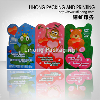 Special Shape Candy Three Side Seal Bags