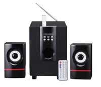 2.1 Multimedia Speaker Read USB&SD, Can Also Connect PC