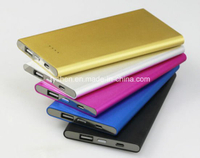 Power Bank Super Slim Wit Aluminum Case 8000 mAh (PB-S07)