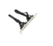 SATA Data Cable Dual Port with Iron Plate