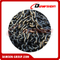 Liga de aço Black Painted Grade 80 Short Fishing Link Chain / G80 Fishing Chain