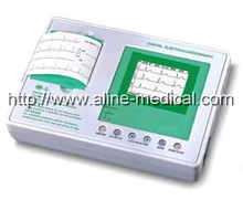 Three Channel Intepretive ECG Machine