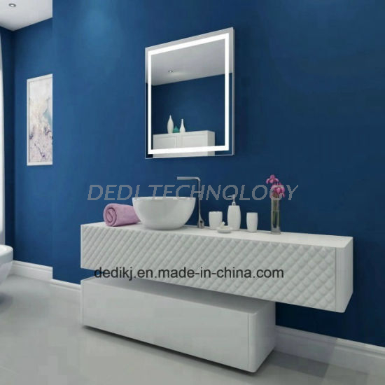 Dedi LED Lighted Wall Mounted Bathroom Vanity Mirror for Hotel and Home
