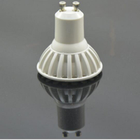 Factory Offer 58mm 500lm 3W/5W COB GU10 LED Bulb