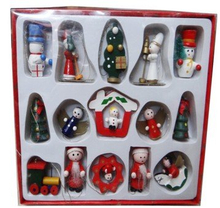Wooden Christmas Decoration for Kids (GCR-0019)