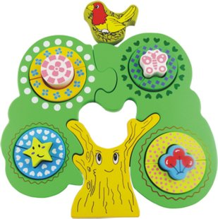 Children Wooden Tree Toys
