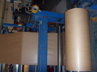 Diamond Dotted Paper for Transformer