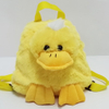 Plush Soft Toy Cartoon Duck Backpack for Kids